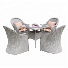 nice design wicker arm chair handmade PE rattan outdoor furniture
