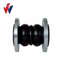 dual Sphere EPDM expansion rubber bellow with flange