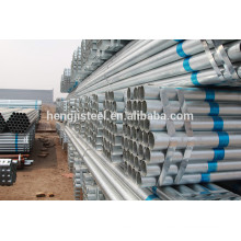 Factory GI Round ss400 galvanized steel pipe for hot sale