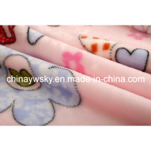 Stock 100% Polyester Flannel Blanket 200*230