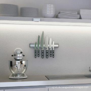 Bunte Plastikwand-doppelte Küchen-magnetische Messer-Zahnstange