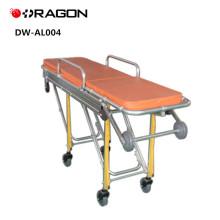 DW-AL004 High Quality Aluminium Alloy Ambulance Stretcher Trolley