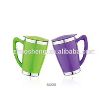 Doppelte Wand Travel Mug, Kaffeetasse, Plastikbecher