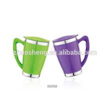 Double paroi Travel Mug, tasse à café, en plastique Mug