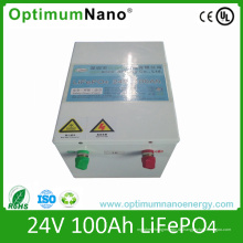 Deep Cycle 24V 100ah LiFePO4 Solarbatterie