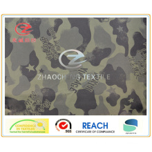 210t Poly Taffeta Font Style Desert Camouflage Printing Fabric (ZCBP127)