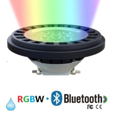 ETL Bluetooth Dimmable RGBW LED AR111 / PAR36 / G53 IP67outdoor Scheinwerfer