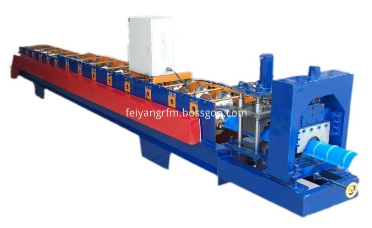 ridge cap roll forming machine 3