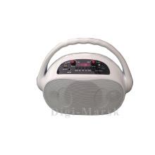 Nouveau style Haut-parleur Bluetooth coloré de 5 pouces avec micro pour scène