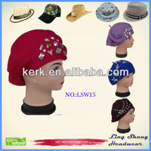 Factory World popular 2013 Fashion Knit Hat wooly hats for women ,LSW15