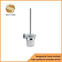 Bathroom Mixer Toilet Brush with Stainless Steel Holder (AOM-8110)