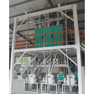 40tons ng Buckwheat Processing Equipment