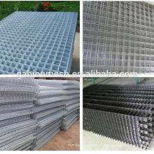 A China fornece uma malha de arame soldada galvanizada 2x2 barata para painel de cerca