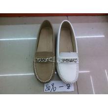 Falt & Comfort Lady Zapatos con suela TPR (SNL-10-039)