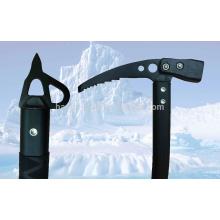 Escalada de gelo eixo curvo Mountaineering Hammer Eixos de gelo