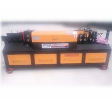 Hydraulische Stahlstangenricht- und -schneidemaschine für Bau