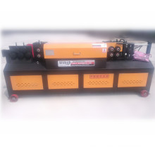 Hydraulic steel bar straightening and cutting machine for construction