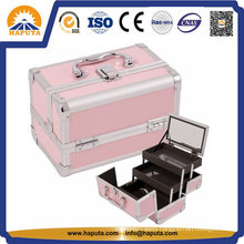 Colorful Aluminum Cosmetics Case for Makeup Artists (HB-2033)