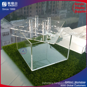 Durable Cheap Acrylic Flowers Box with Factory Price