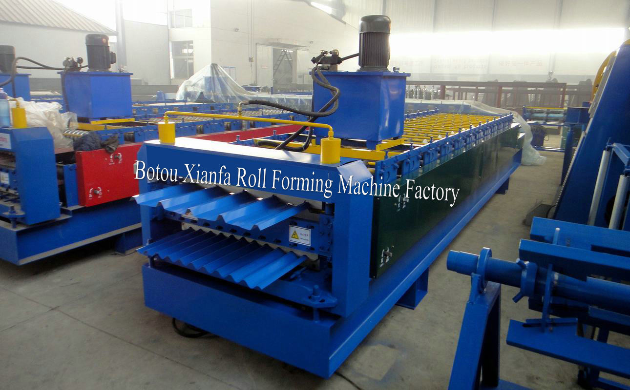 roof tile r panel roll forming machine
