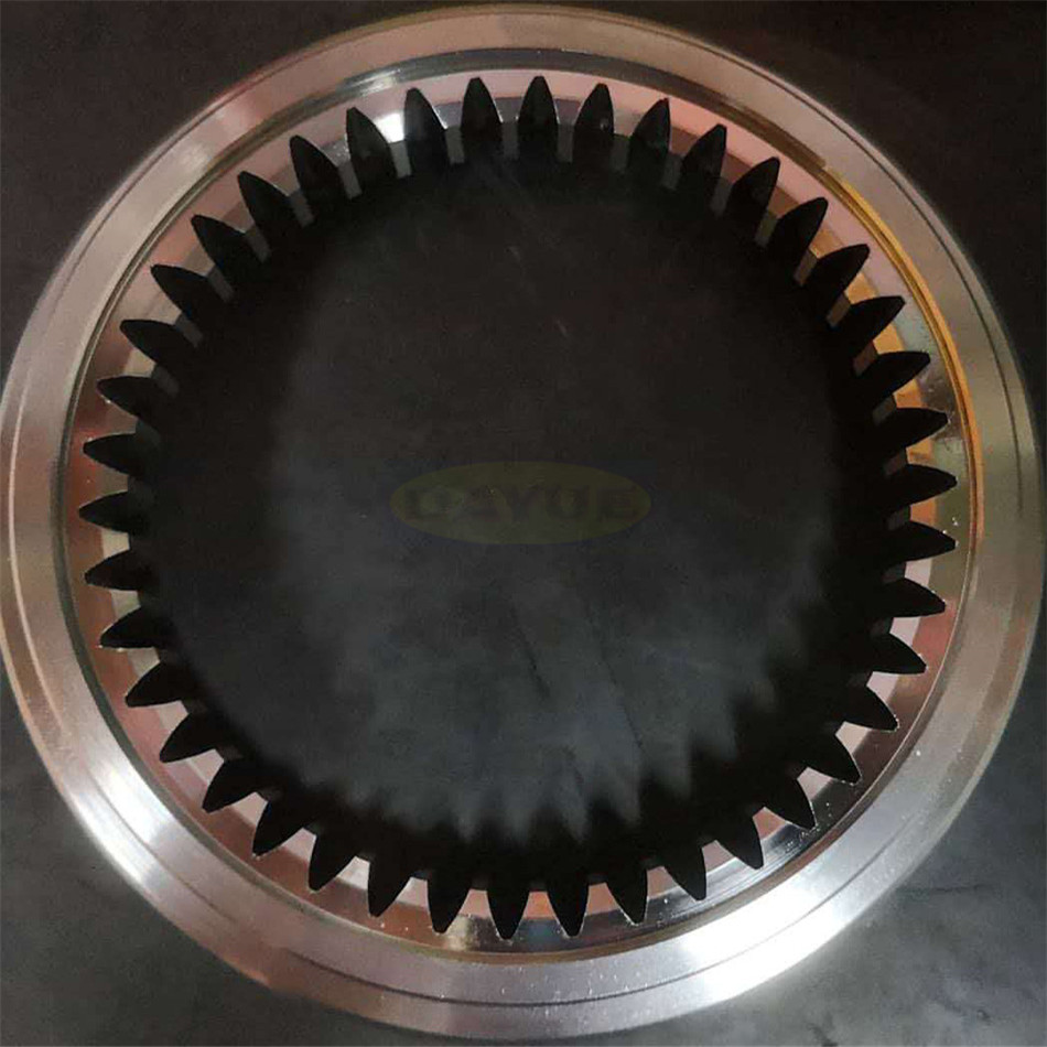 Customized outer ring gear of planetary reducer