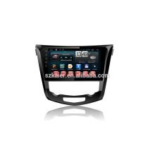Fábrica kaier -Quad core + Full touch android 4.4.2 carro dvd para X-trail + 1024 * 600 + link mirrior + TPMS + fábrica diretamente