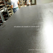 18mm Pappel / Birke Core Anti-Rutsch / Wiremesh Film konfrontiert Sperrholz für Beton