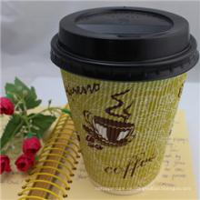 Materia prima de la taza de papel, tazas de papel del café