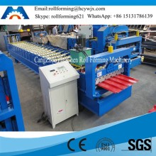 HC25 Thailand 914mm Raw material Galvanized Steel Roof Sheet Roll Forming Machine