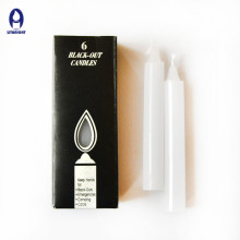 Factory price daily use unscented white household candle