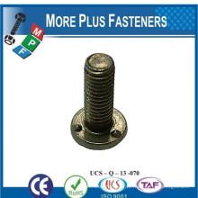 Feito em Taiwan DIN 34817 Parafuso de solda com fio métrico Plain Zinc Plated ou Hot Dip Galvanizado