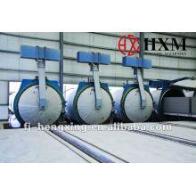 Planta de fabricación de ladrillos AAC (HXM) (Hormigón aireado autoclavado)