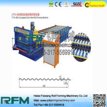 FX corrugated hose sheet making machine