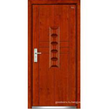 Стальные деревянные двери (LT-322)