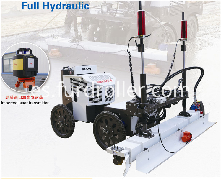 Vibratory Laser Screed Machine