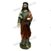 Wholesale Deft Design Resin Jesus Sculpture for Religious Decoration