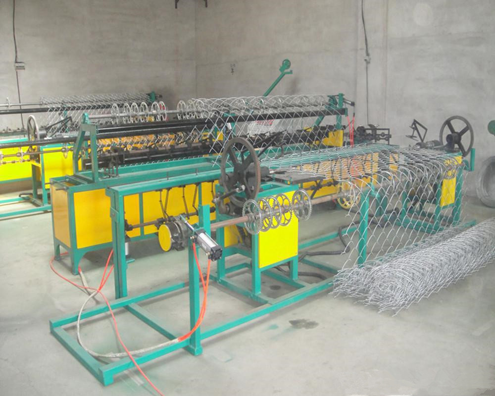 chain link mesh machine