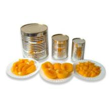 Halves Sweet Canned Yellow Peach In Syrup