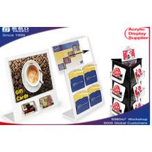 Acrylic Clear Gift Card Display Racks, Maginze Frames