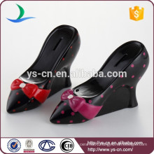 High heel Shaped ceramic Coin Box
