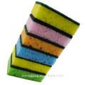 JML0362 Bunte Schwamm Scouring Pads / Seaweed Schwamm Scrubber für den Verkauf