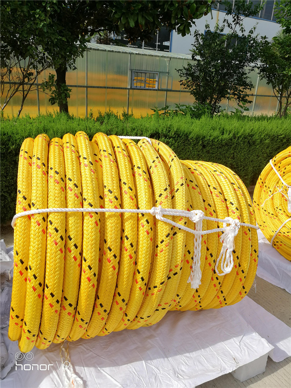polyester UHMWPE Double Braided Rope