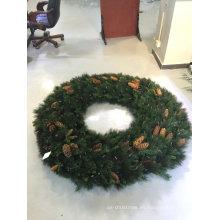 Gran corona comercial para Navidad con Pre Iluminación y Deco (muestras disponibles)