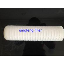 Cartouche filtrante plissée de l'eau de pp