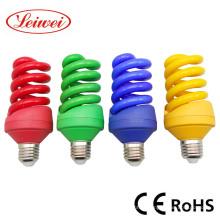 Красочные полный спиральные энергосберегающие освещения (T4 полная спираль)