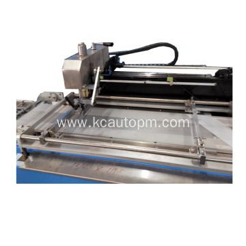 Automatic two colors ribbon screen printing machine