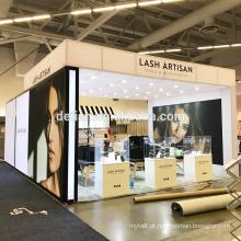 Oferta de Detian comestic tamanho grande cabine de exposição de alumínio material de exibição tradeshow estande ao ar livre e interior