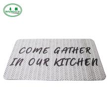 Tapete anti-fadiga para pés de cozinha 100% PVC ecológico