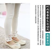 calças de estilo coreano meninas / bebê meninas calças calças vestido