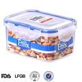 fechamento à prova de vazamento e selar o recipiente de alimento empilhável livre de bpa